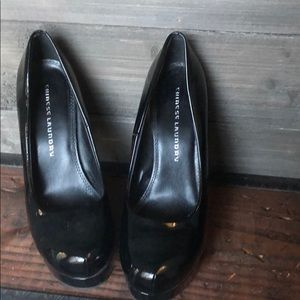 Chinese Laundry Black Patent Heels 10